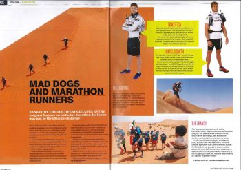 Marathon des Sables in Men's Health Magzine