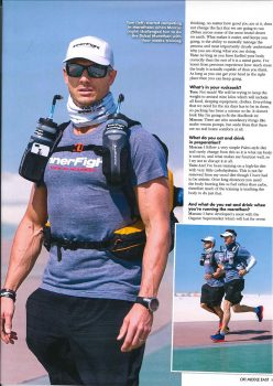Marathon des Sables in OK Middle East Magazine 1