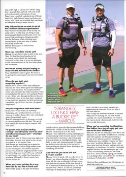 Marathon des Sables in OK Middle East Magazine 2