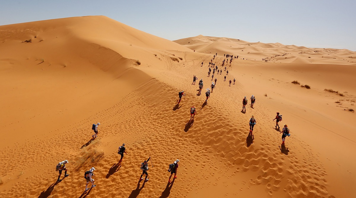 Dunes of Marathon des Sables