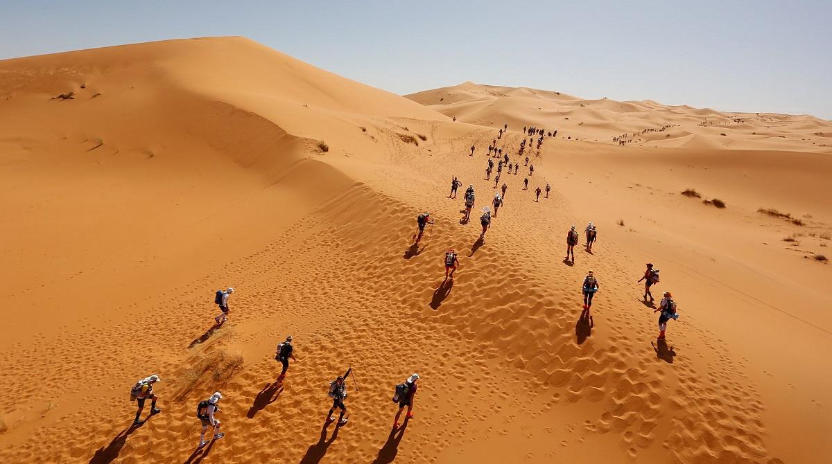 Dunes of Marathon des Sables