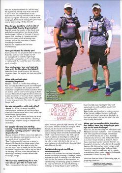 Marathon des Sables in OK Middle East Magazine 2
